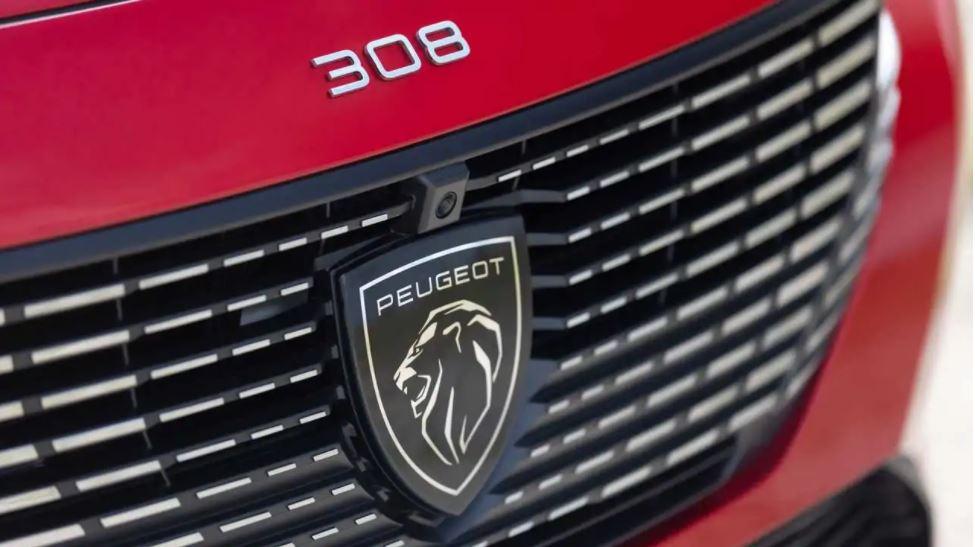 Peugeot 308 nouveau logo rouge