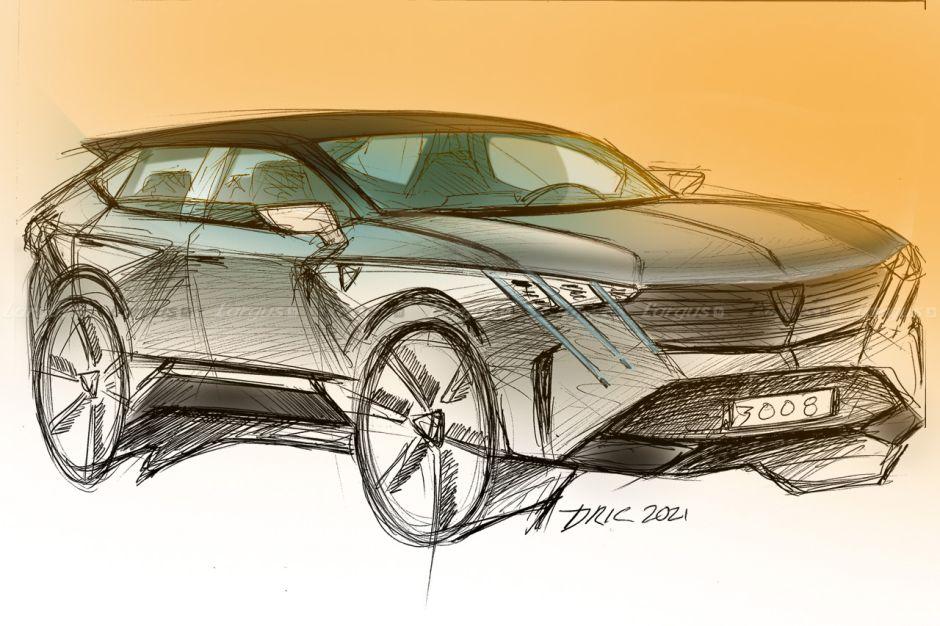 Futur Peugeot 3008 (2023)